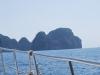 Kotvíme na Phi Phi Island, Thajsko