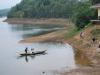 Výhľad z nášho domčeku pri jazere, Phong Nha-Ke Bang, Vietnam