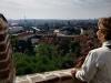 Výhľad na mesto z Hradčian, Praha
