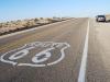 Zastávka v Púšti Mojave, Route 66 California