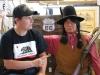 Stretnutie priateľov v Barstow, Route 66 California