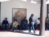 Indiánsky trh pri Paláci guvernérov, La Plaza, Santa Fe, Nové Mexiko
