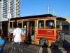 Nastupujeme na turistický autobus, Oklahoma City, Oklahoma, USA