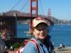 San Francisco, pri Golden Gate Bridge