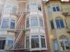 San Francisco, dom s požiarnymi rebríkmi