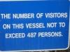 San Francisco, plavidlo sa nesmie preťažiť