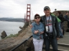 San Francisco, vyhliadka na Golden Gate Bridge zo severu