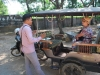 Náš luxusný tuktuk, Siem Reap, Kambodža