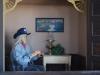 Starý muž z mesta duchov