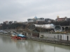 Pohľad na Prezidentský palác z Mosta Slobody, Tbilisi