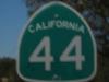 Cesta číslo 44, severná Kalifornia