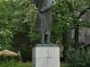 Budapešť, socha dejateľa