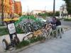 Budapešť, požičovňa bicyklov