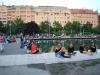 Budapešť, mládež popíja
