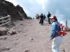 Sopka Vezuv - chodník okolo krátera