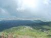 Sopka Vezuv - výhľad dole