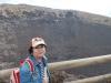 Marianka na okraji krátera sopky
