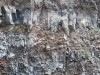 Sopka Vezuv - stena krátera