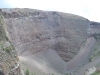Sopka Vezuv - kráter spí