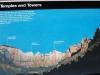 Známe skaly, Zion National Park, Utah